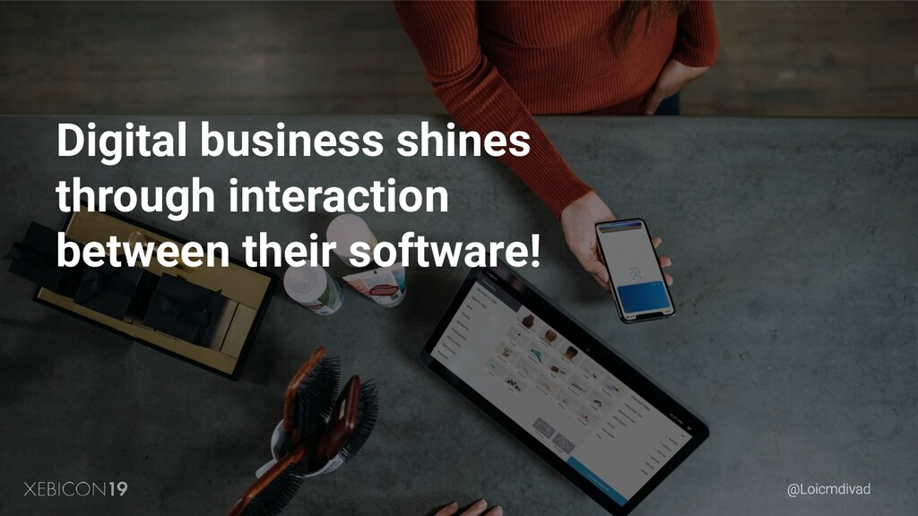 Digital business shines through interaction bet...