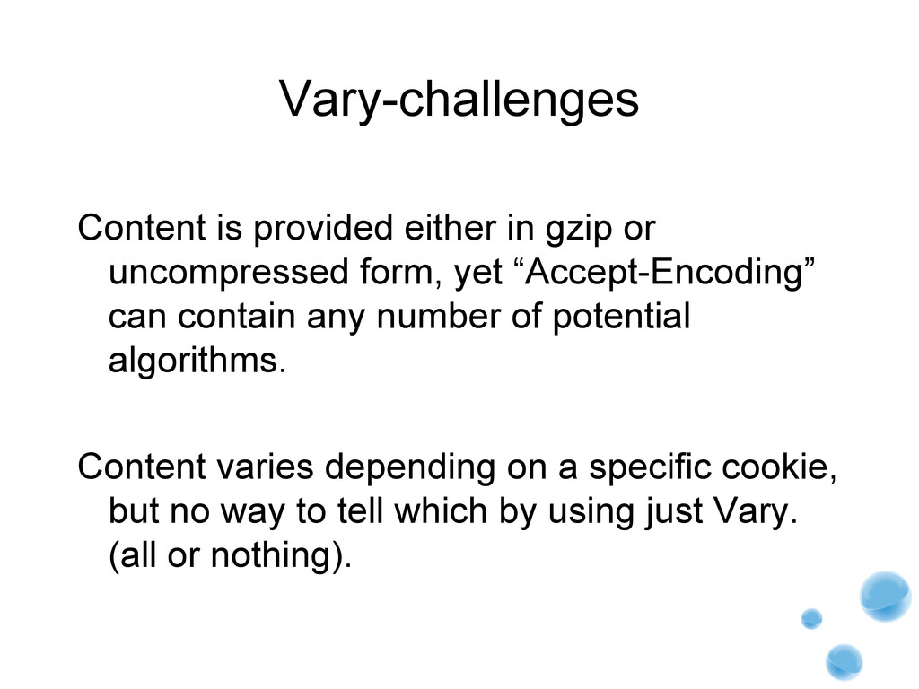 Vary-challenges Content is provided either in g...