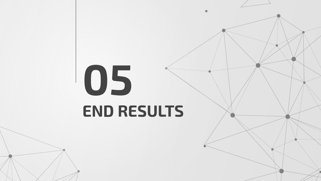 END RESULTS 05