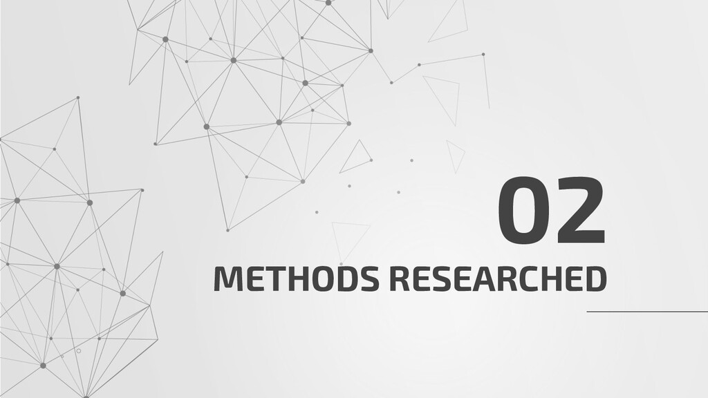 METHODS RESEARCHED 02