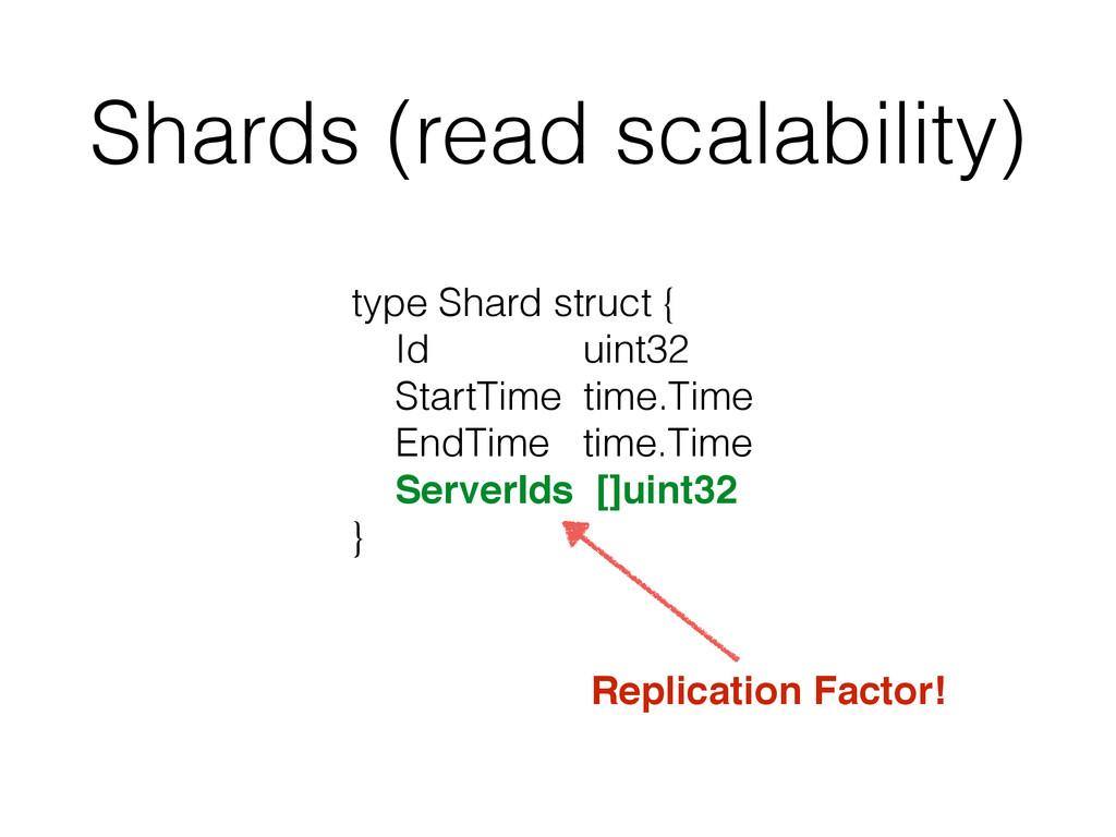 Shards (read scalability) type Shard struct { I...