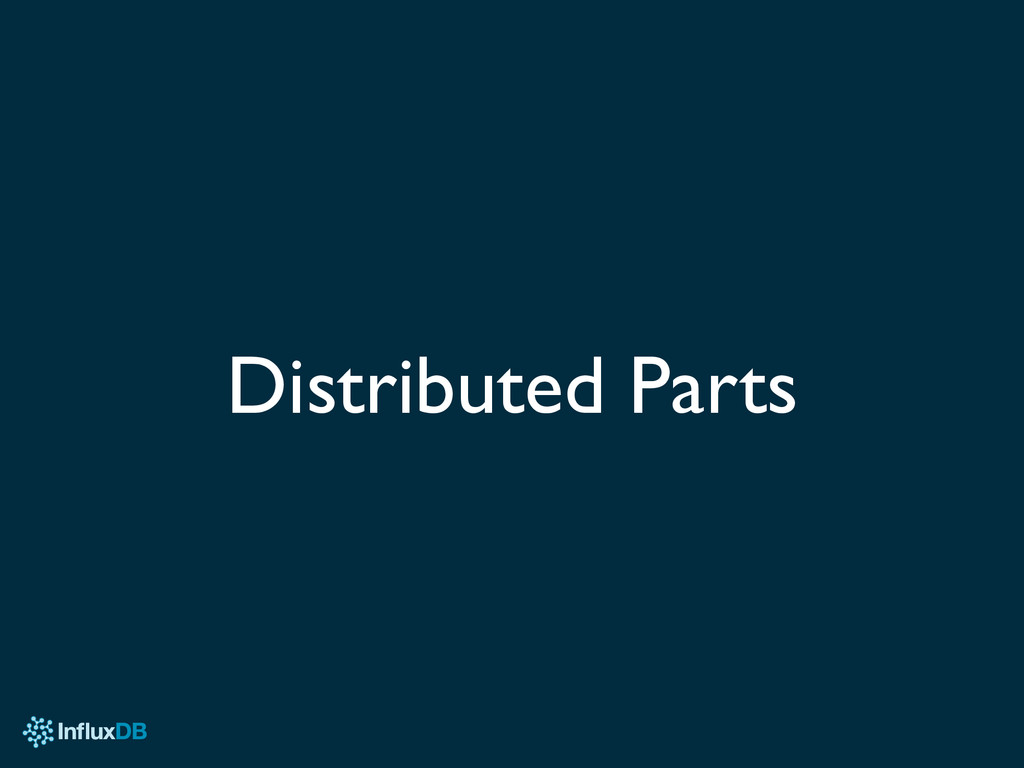 Distributed Parts