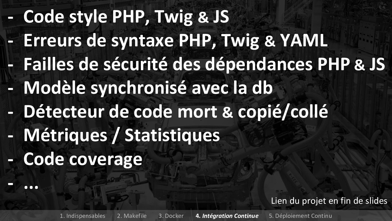 - Code style PHP, Twig & JS - Erreurs de syntax...