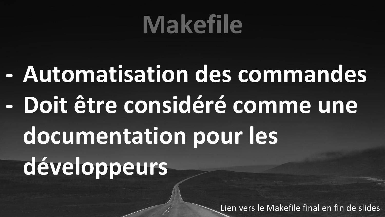 Makefile - Automatisation des commandes - Doit ...
