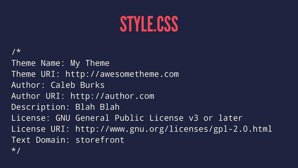 STYLE.CSS /* Theme Name: My Theme Theme URI: ht...
