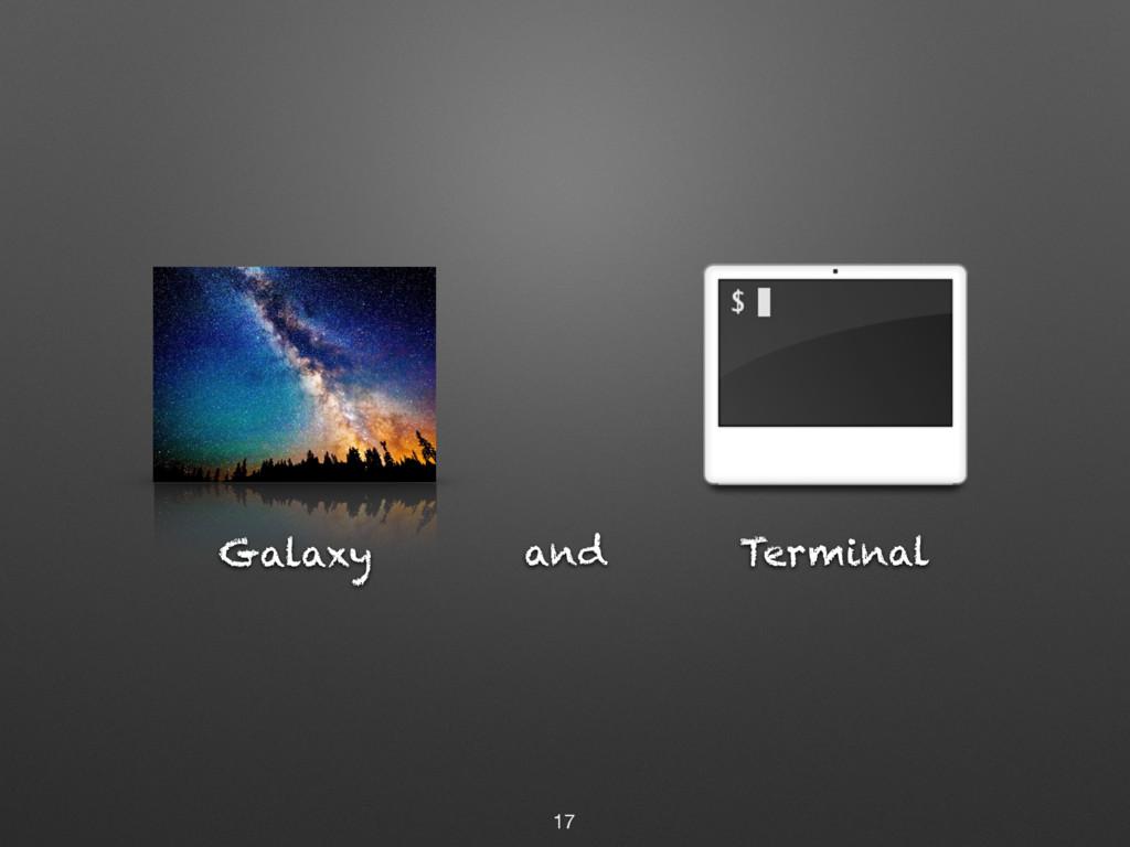 Terminal and 17 Galaxy