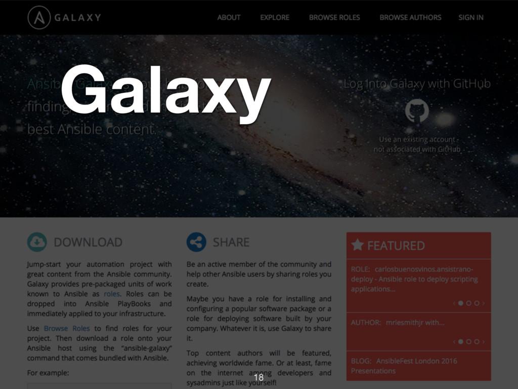 Galaxy 18