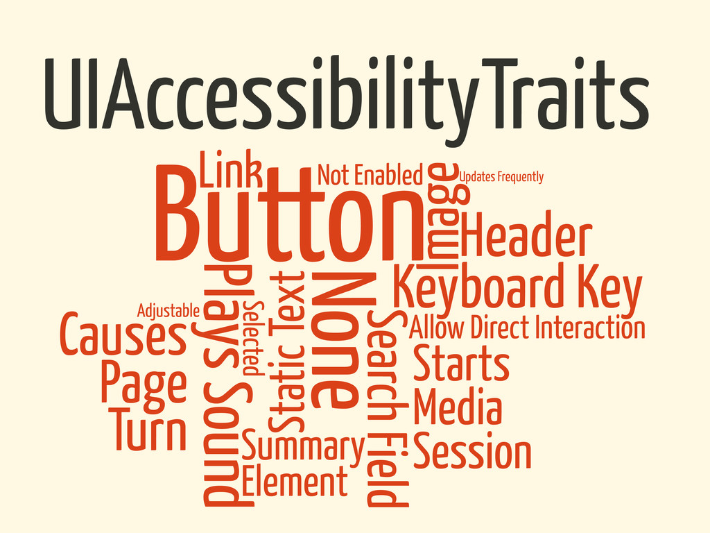 UIAccessibilityTraits Causes Page Turn Starts M...