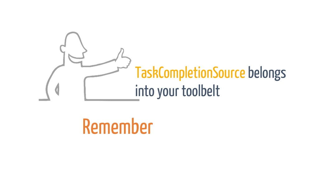 TaskCompletionSource belongs into your toolbelt...
