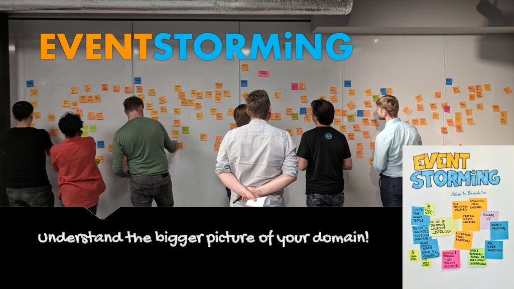 Understand the bigger picture of your domain! E...