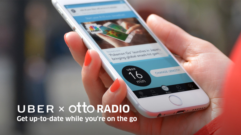 Get up-to-date while you're on the go RADIO