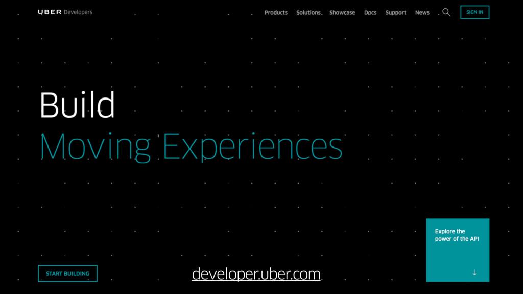 developer.uber.com