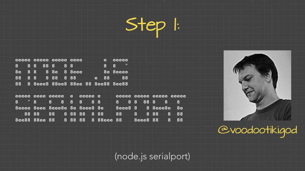 Step 1: eeeee eeeee eeeee eeee e eeeee 8 8 8 88...