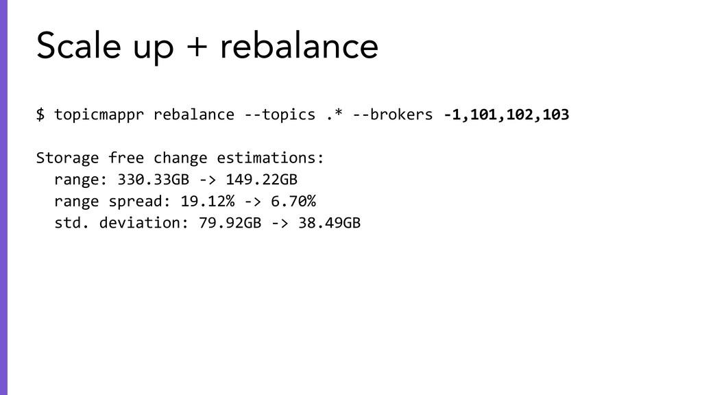 $ topicmappr rebalance --topics .* --brokers -1...