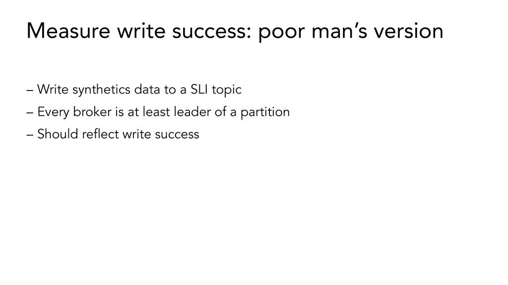 Measure write success: poor man's version – Wri...