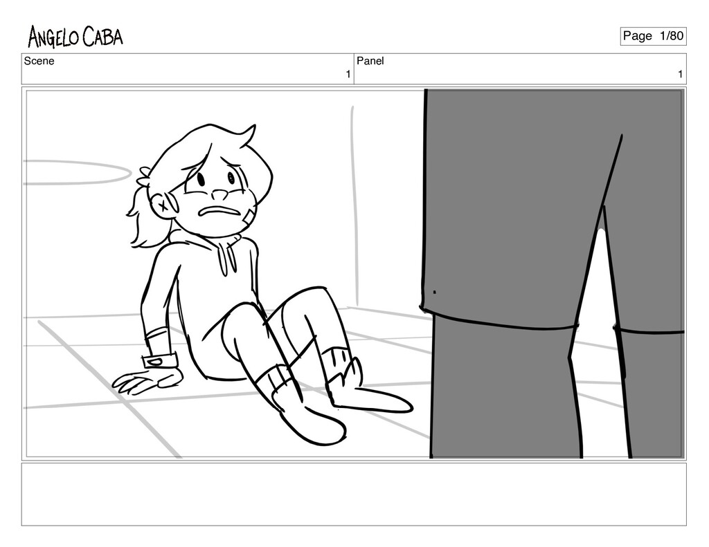 Scene 1 Panel 1 Page 1/80