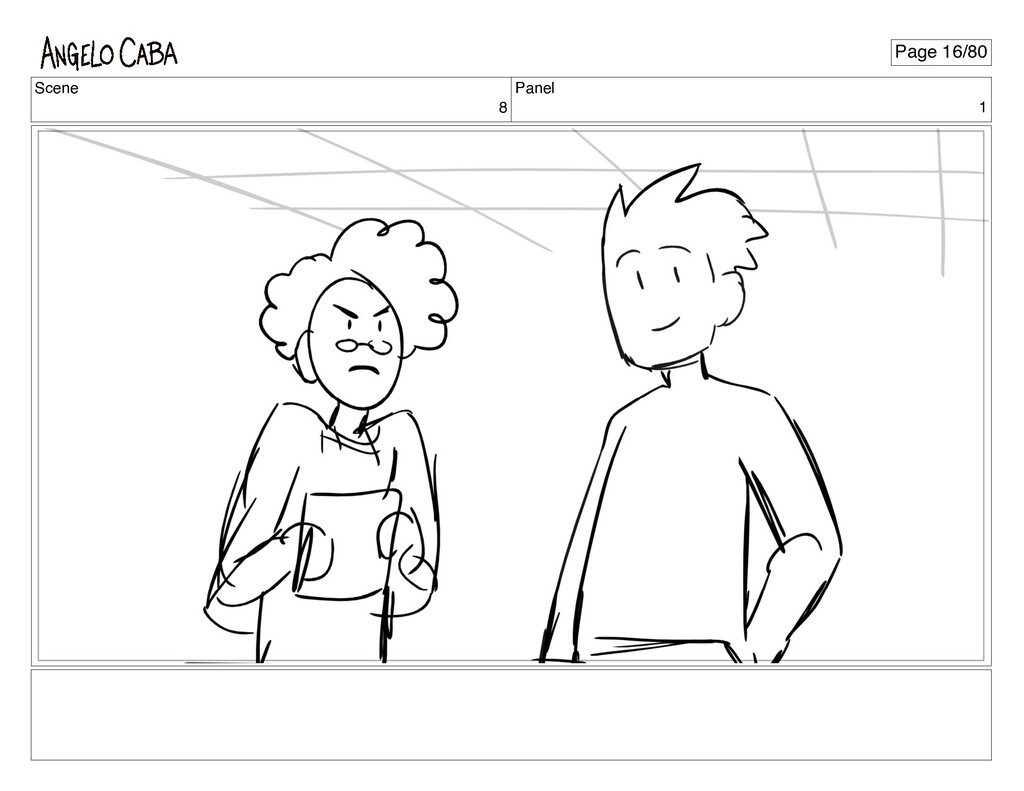 Scene 8 Panel 1 Page 16/80