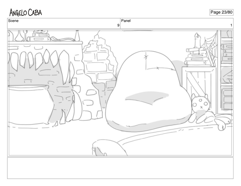 Scene 9 Panel 1 Page 23/80