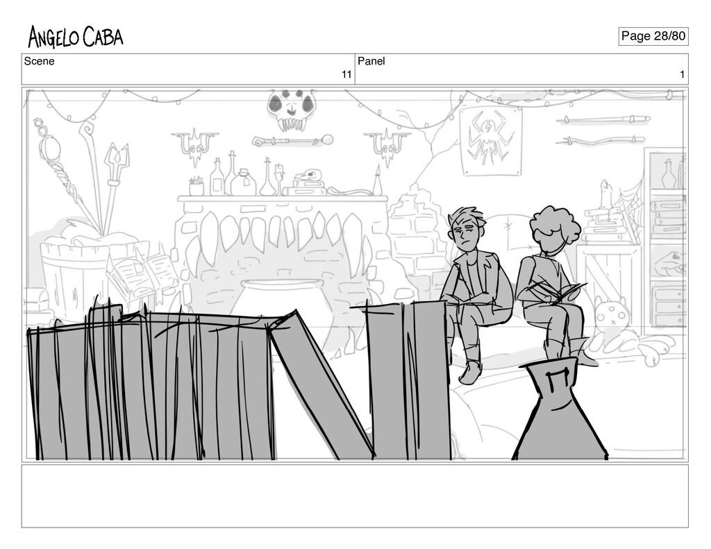 Scene 11 Panel 1 Page 28/80