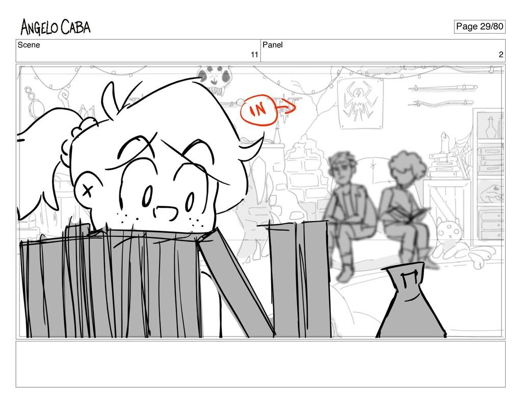 Scene 11 Panel 2 Page 29/80