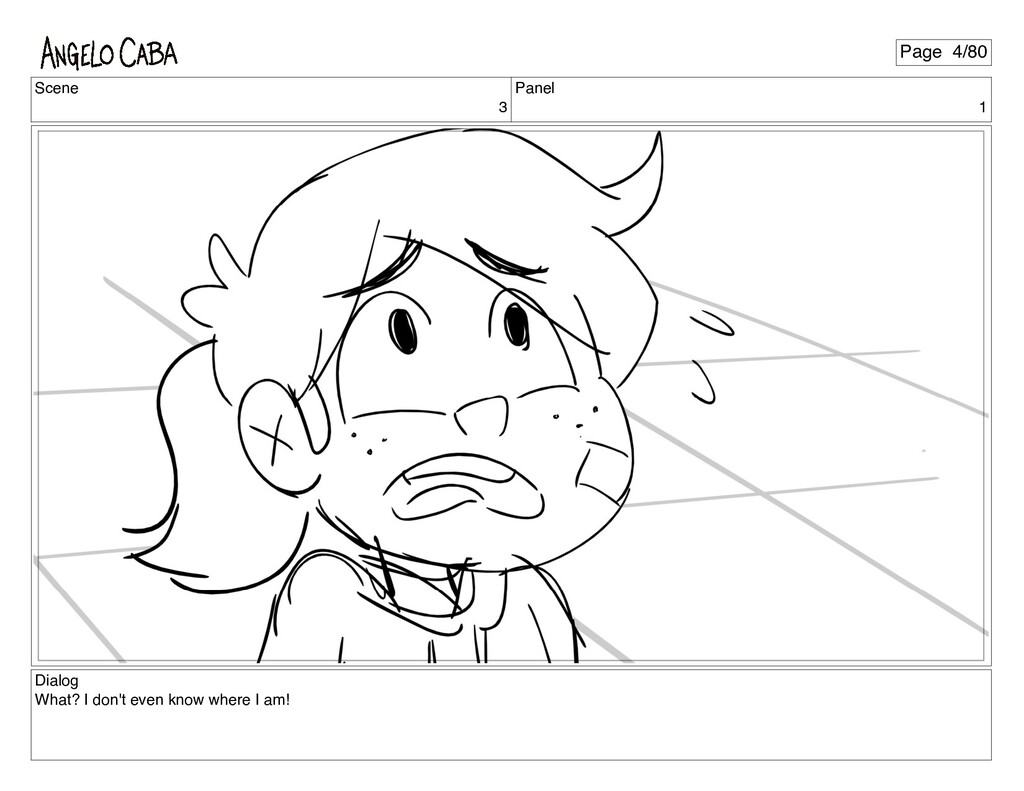Scene 3 Panel 1 Dialog What? I don't even know ...