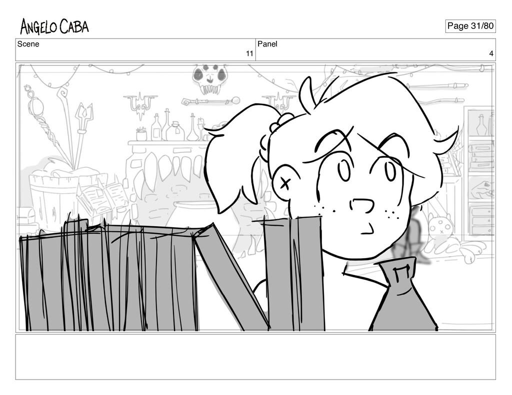 Scene 11 Panel 4 Page 31/80
