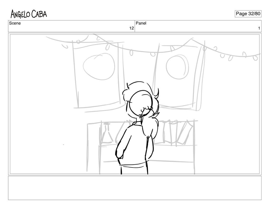 Scene 12 Panel 1 Page 32/80