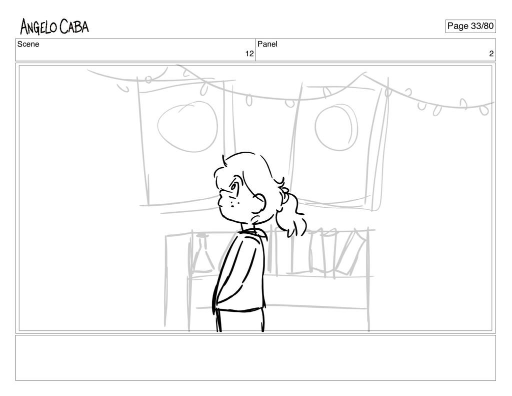 Scene 12 Panel 2 Page 33/80