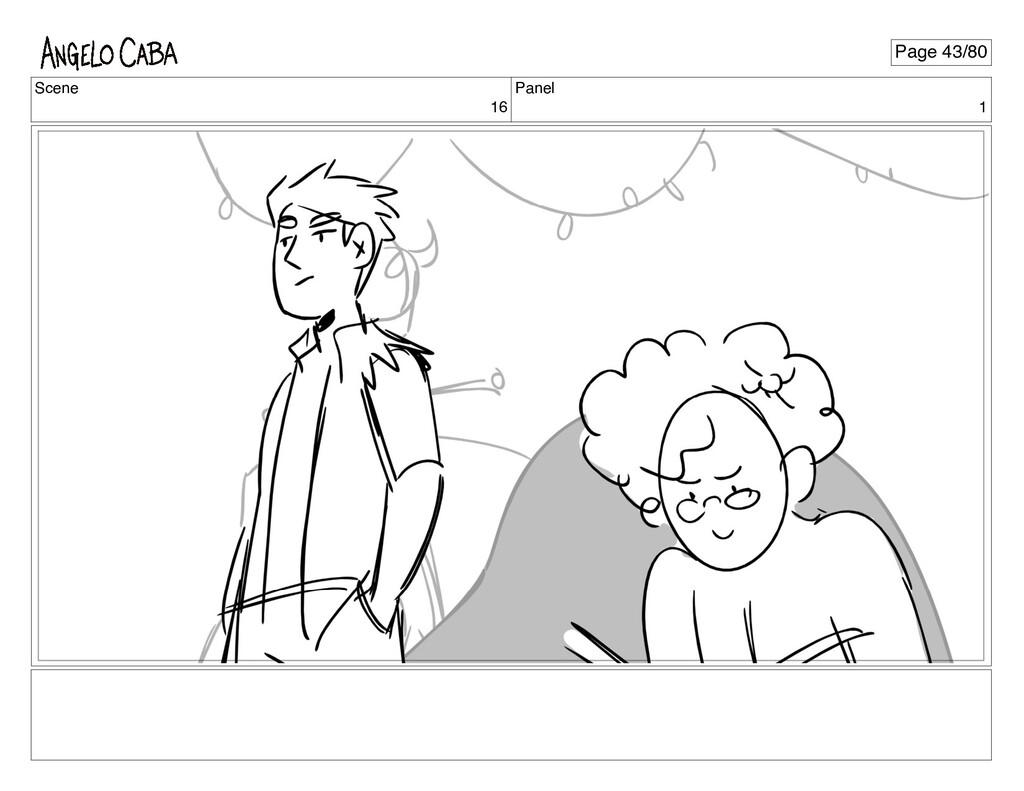 Scene 16 Panel 1 Page 43/80