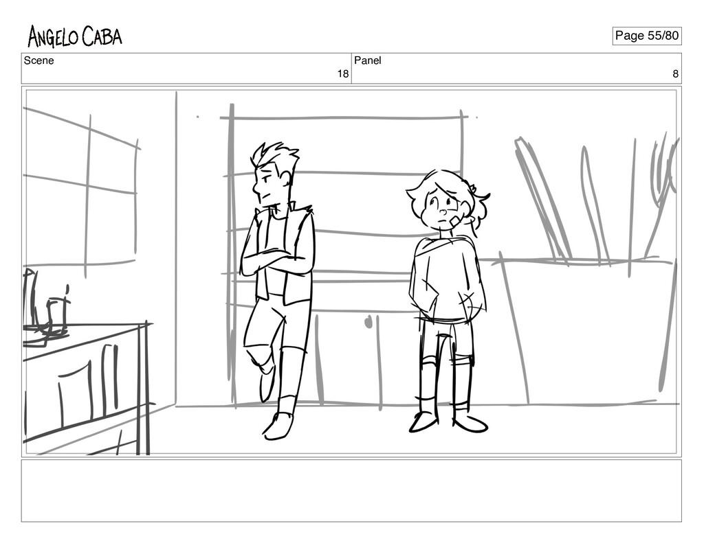 Scene 18 Panel 8 Page 55/80