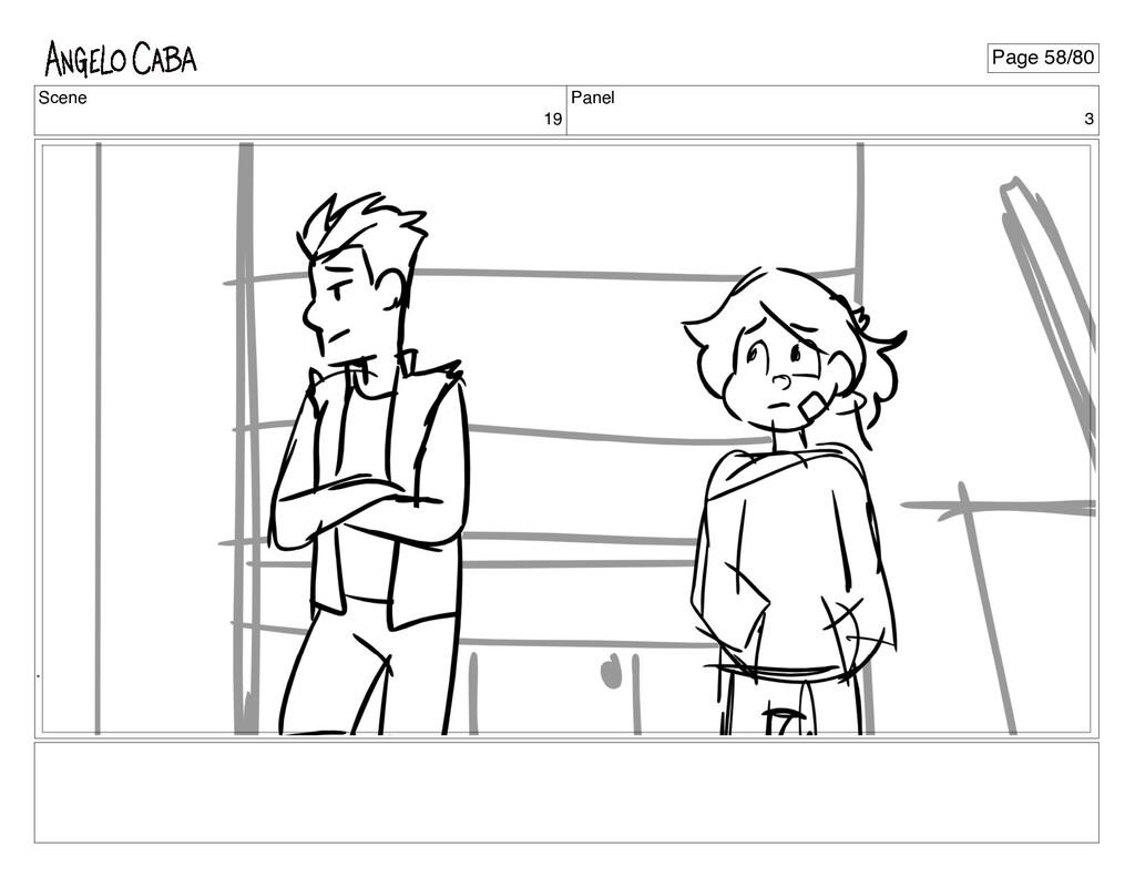 Scene 19 Panel 3 Page 58/80