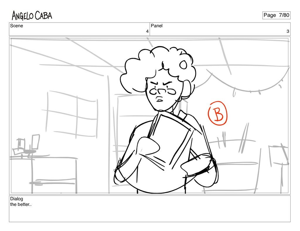 Scene 4 Panel 3 Dialog the better.. Page 7/80