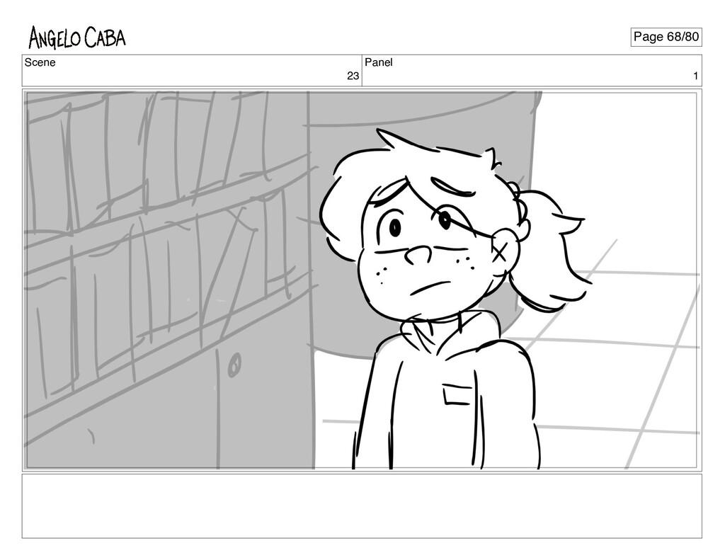 Scene 23 Panel 1 Page 68/80