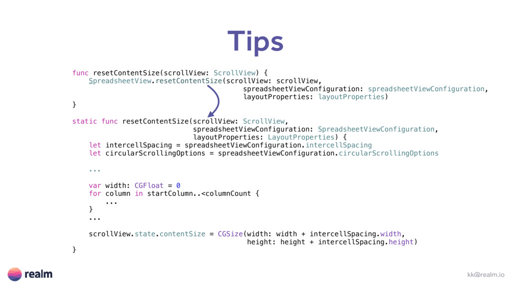 Tips kk@realm.io func resetContentSize(scrollVi...