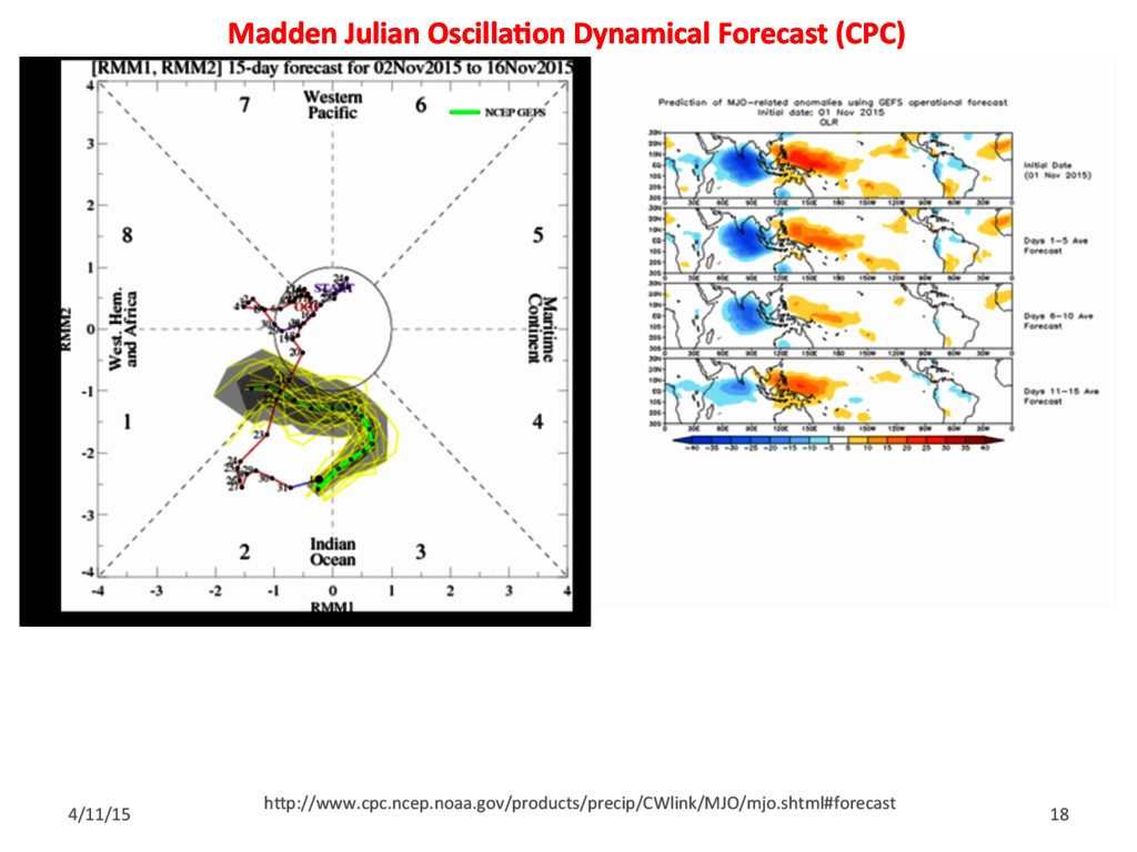 Madden Julian Oscilla<on Dynamical Forecast (CP...