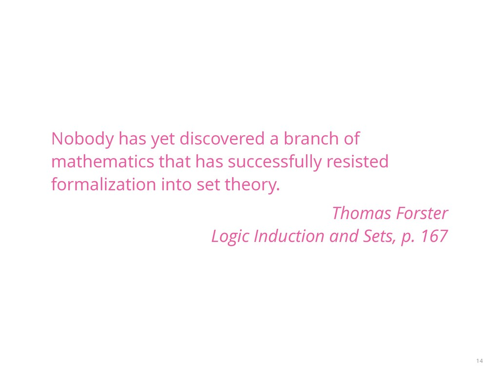 Nobody has yet discovered a branch of mathemati...