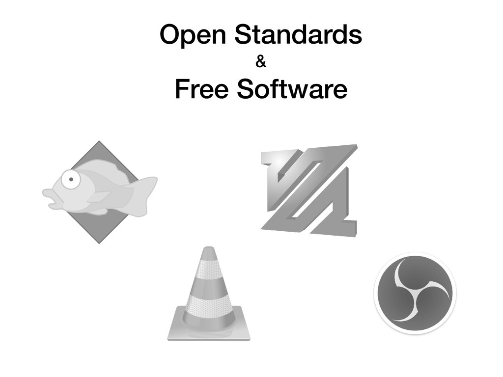 Open Standards & Free Software