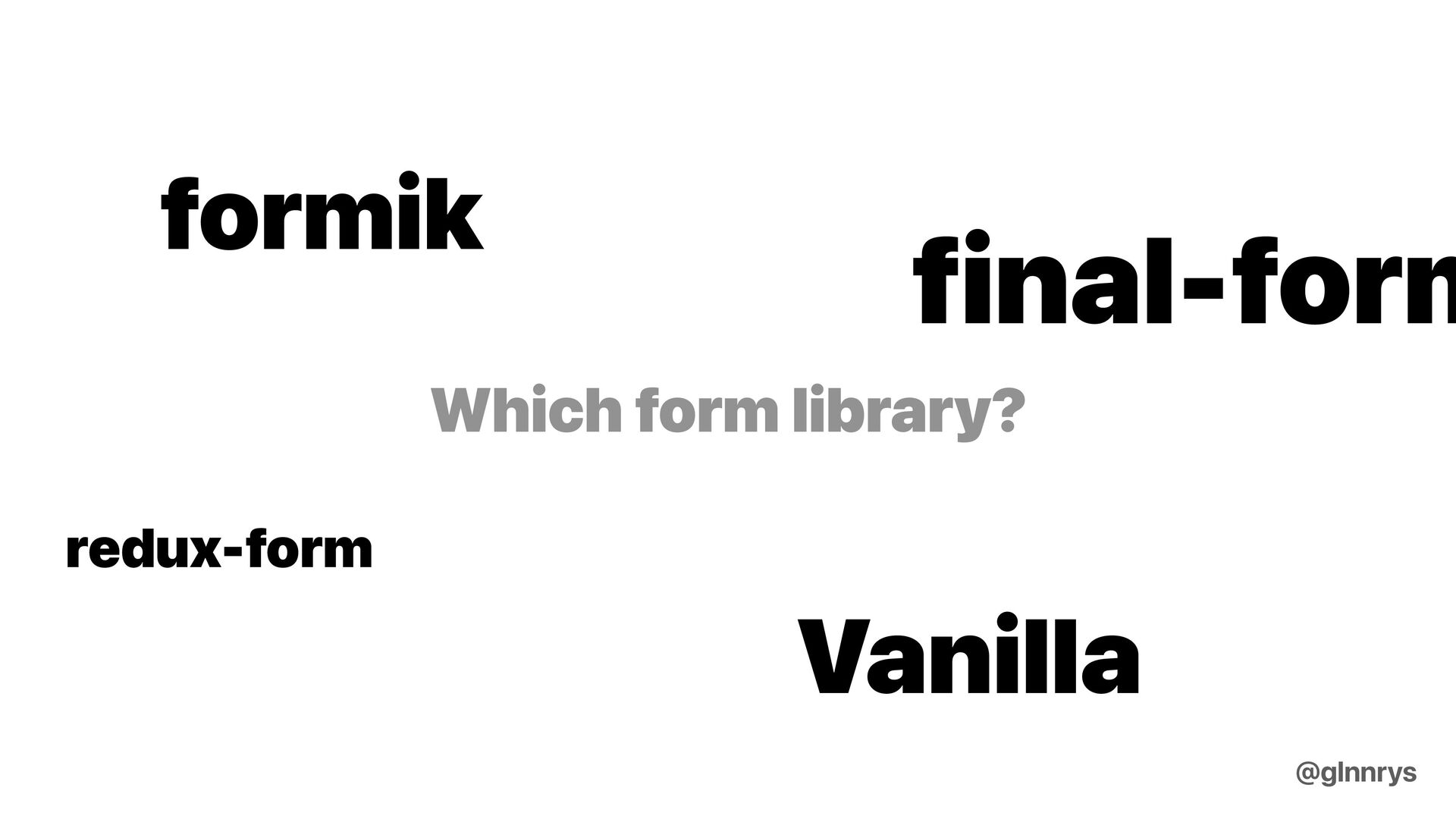 How do we decide on things? @glnnrys
