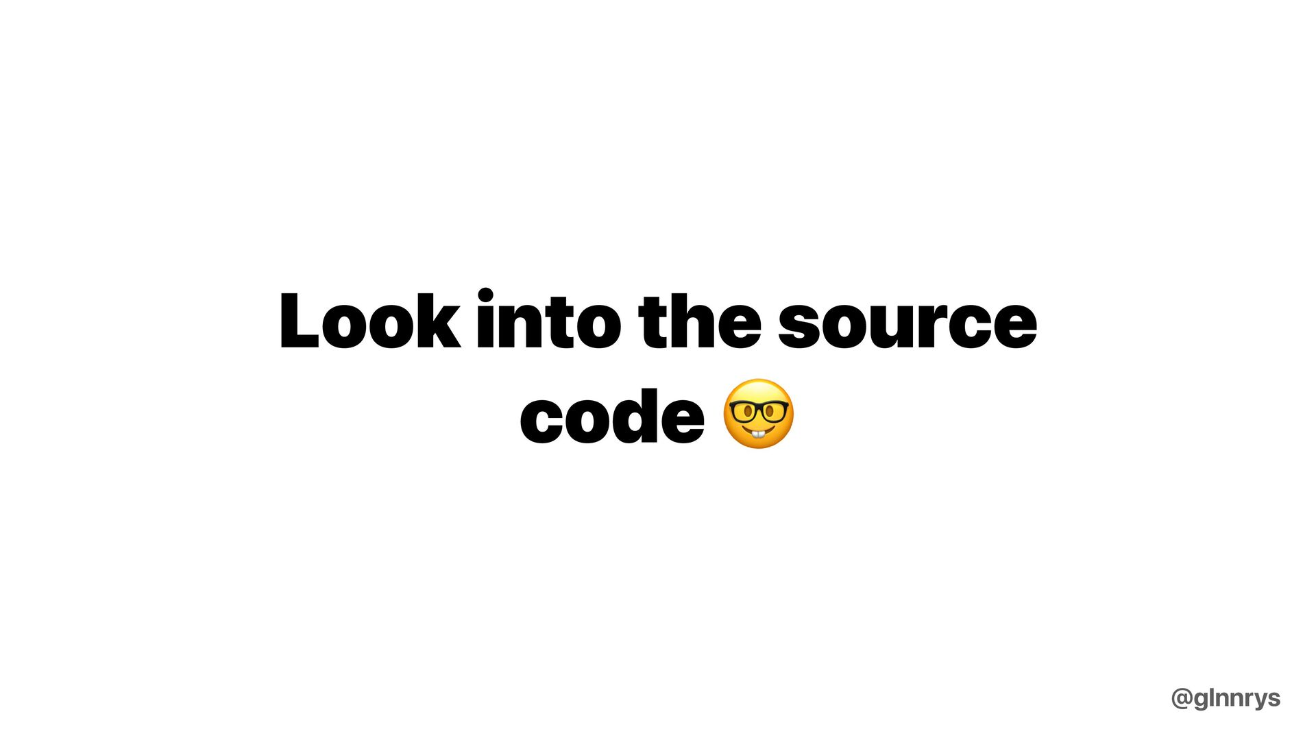 How to decide what library to use? @glnnrys
