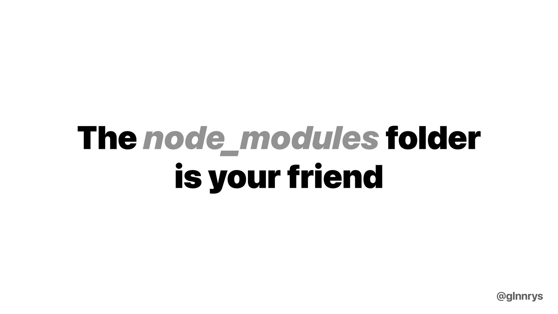 Is it over-engineered? @glnnrys