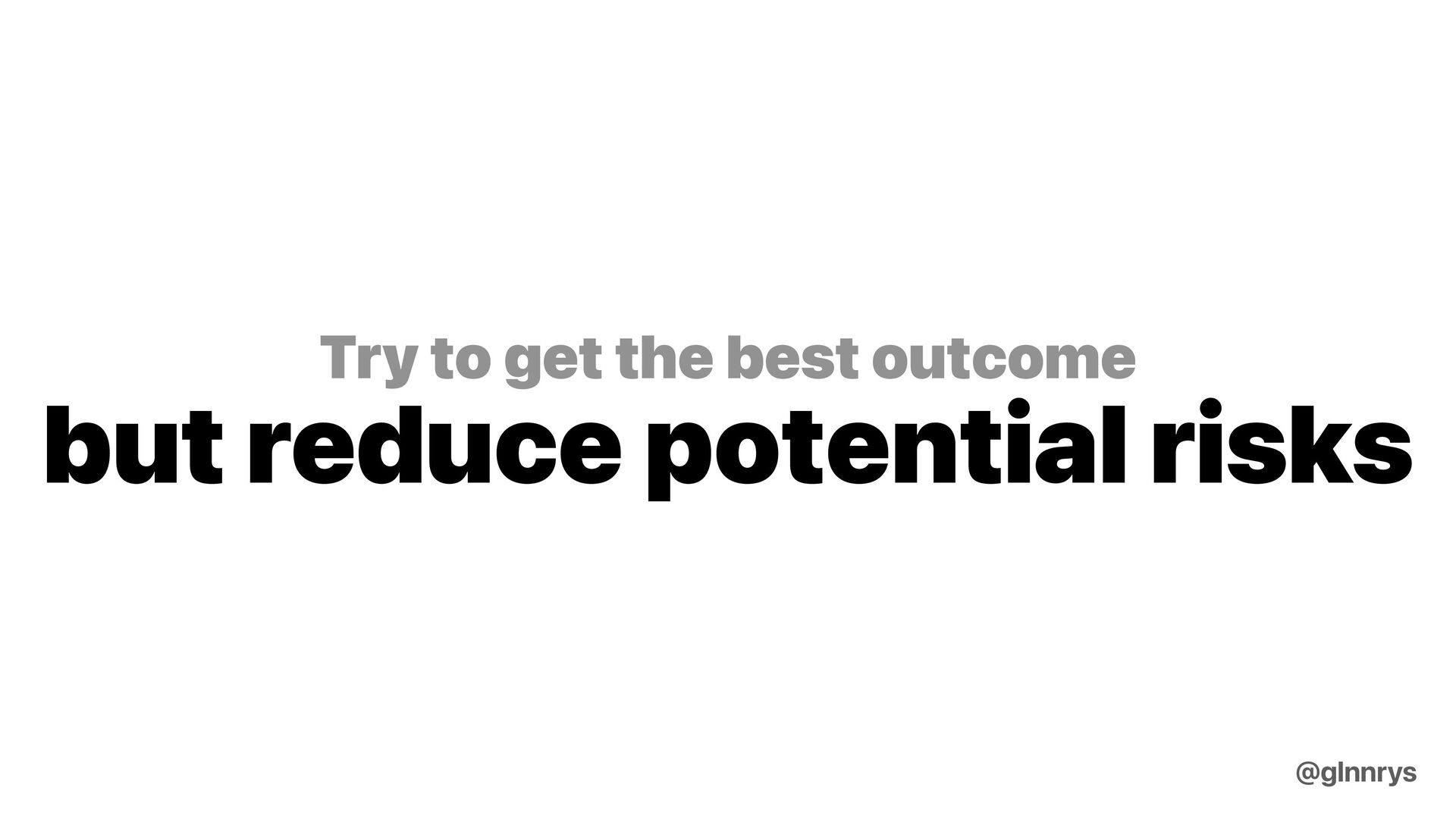 With full control it's your respobility to main...