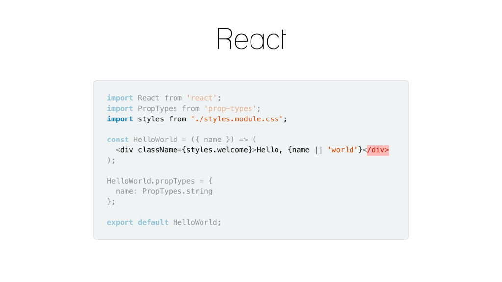 import React from 'react'; import PropTypes fro...