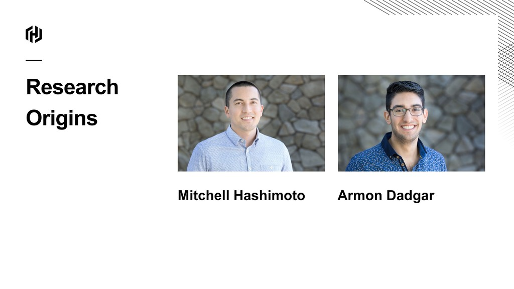 Research Origins Mitchell Hashimoto Armon Dadgar