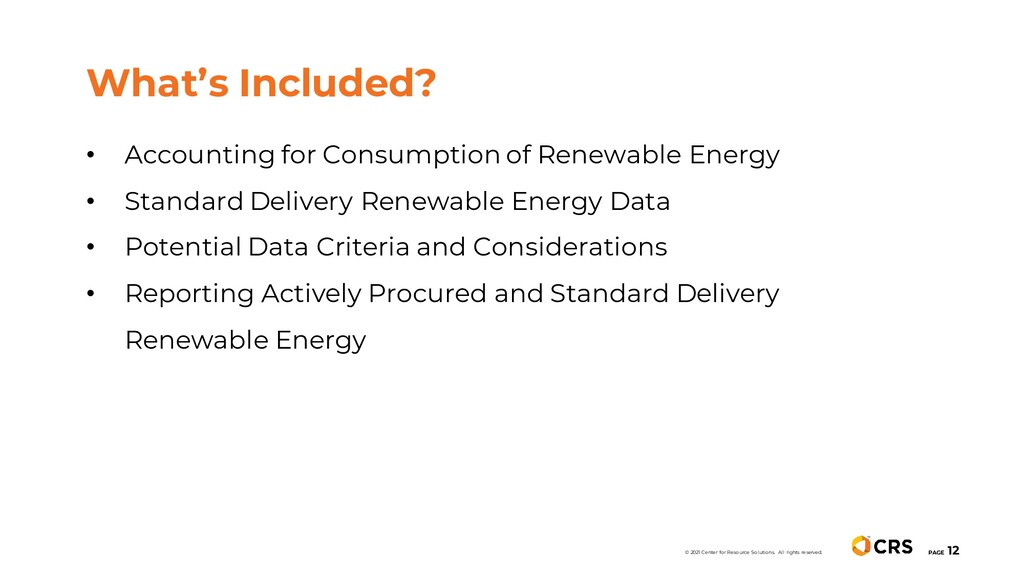 • Accounting for Consumption of Renewable Energ...