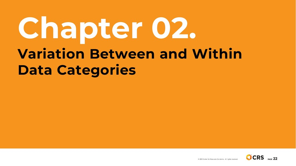 Chapter 02. Variation Between and Within Data C...