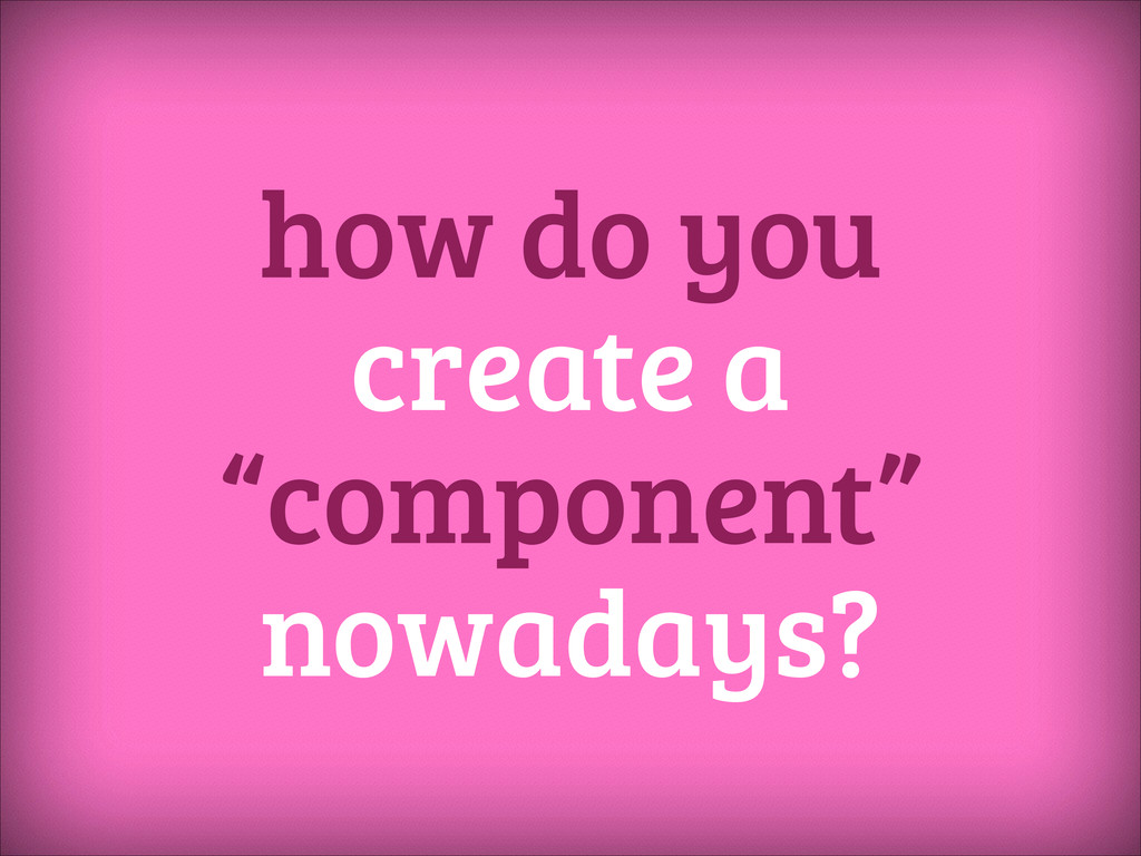 how do you create a