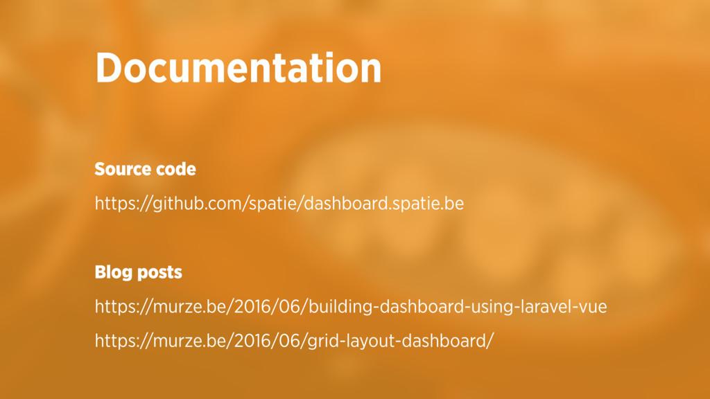 Source code https://github.com/spatie/dashboard...
