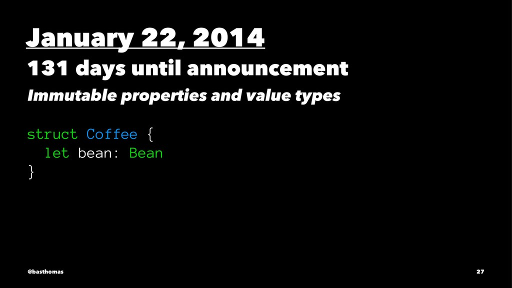 January 22, 2014 131 days until announcement Im...