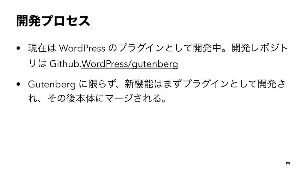 ։ൃϓϩηε • ݱࡏ WordPress ͷϓϥάΠϯͱͯ͠։ൃதɻ։ൃϨϙδτ Ϧ G...
