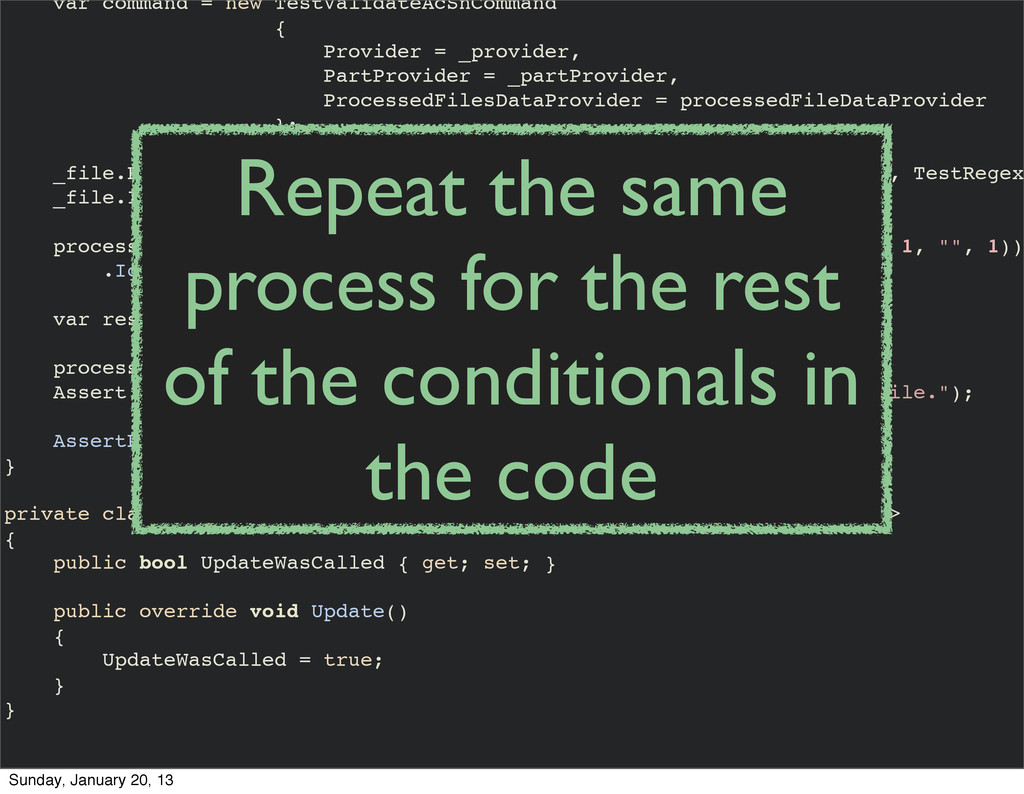 var command = new TestValidateAcSnCommand { Pro...